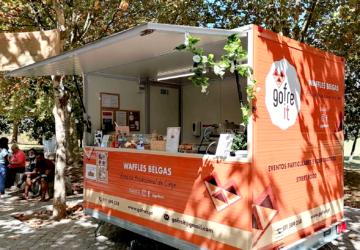 A Gofre It já tem uma food truck para comer os deliciosos waffles belgas